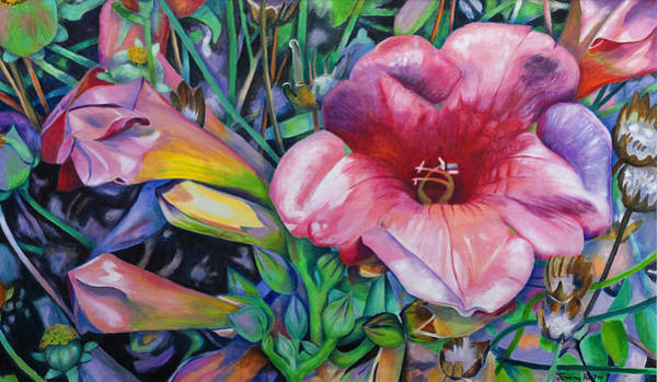Painting - Fragrant Blooms by Jeremy Holton