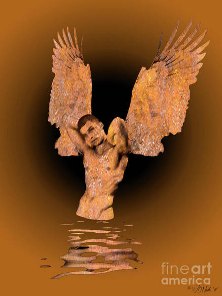 Digital Art - In The Realm Of Angels by Walter Neal