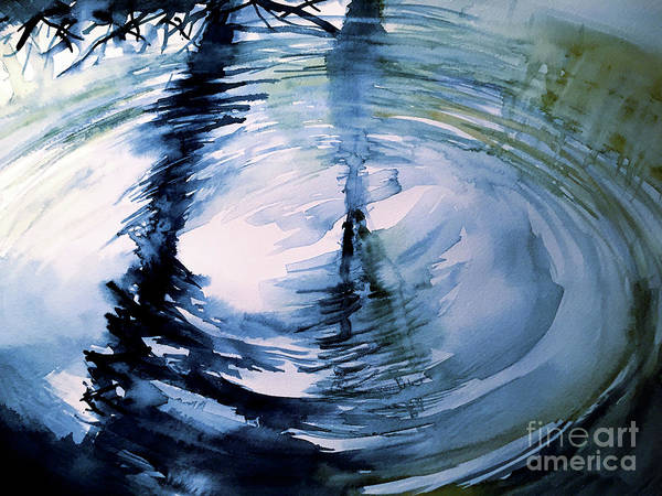 Painting - In The Ripple by Allison Ashton