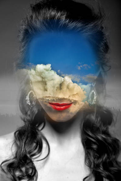 Multiple Exposure Digital Art - In The Sky by Anastasiia Klymenko
