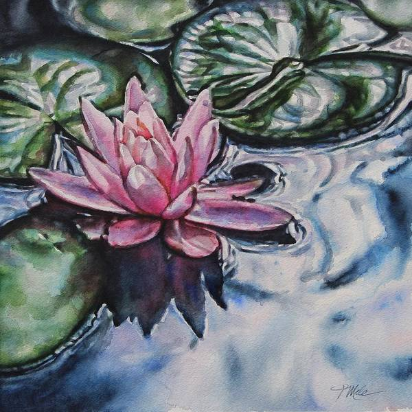 Painting - In The Stillness by Tracy Male