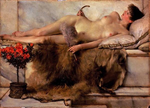 Tepidarium Painting - In The Tepidarium  by Lawrence Alma-Tadema