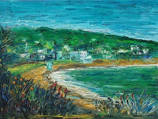 Laguna Beach Painting - In The Thick Of Laguna by John Loyd Rushing