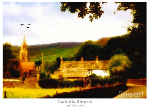 Digital Art - In The Valley by Abbie Shores