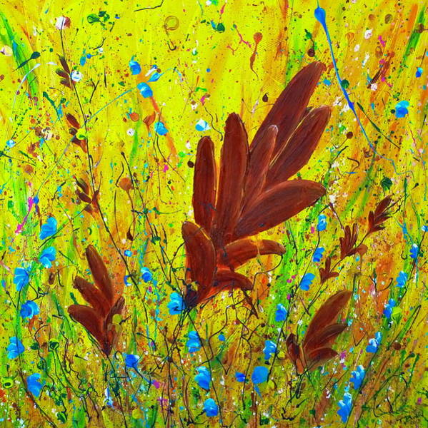 Painting - In The Wind by Tracy Bonin