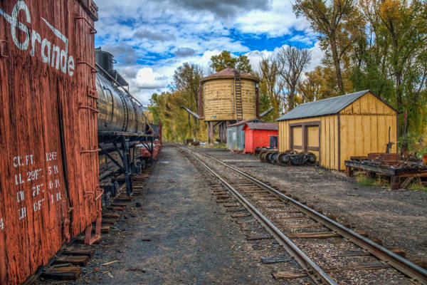 Chama Photograph - In The Yard by Tom Weisbrook