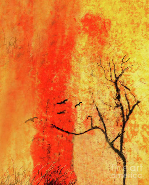 Mottled Mixed Media - In The Zen by Sharon Williams Eng