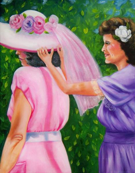 Painting - In Your Easter Bonnet by Joni McPherson