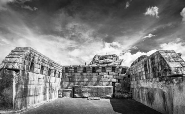 Photograph - Inca Walls. by Gary Gillette