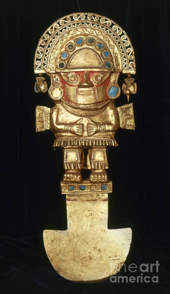 Photograph - Incan Gold Ornament by Granger