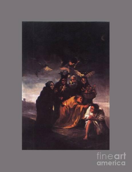 Satanism Digital Art - Incantation by Frederick Holiday