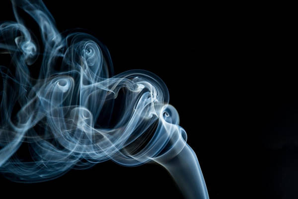 Photograph - Incense Smoke by Tom Woll