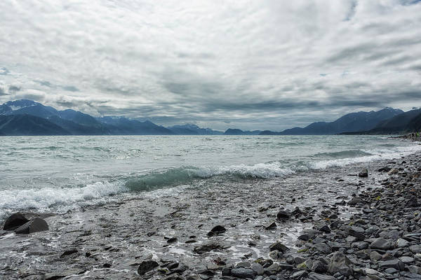 Photograph - Incoming Clouds Over Seward by Belinda Greb