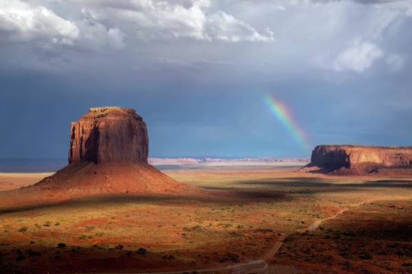 Photograph - Incoming Rainbow  by Harriet Feagin