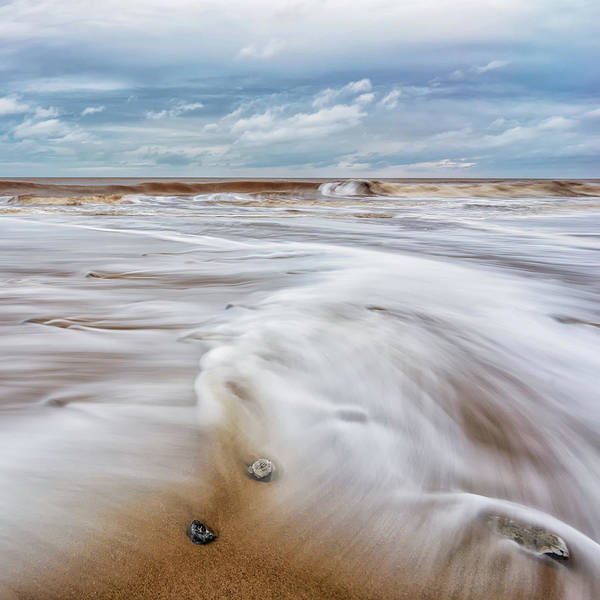 Photograph - Incoming Tide by James Billings