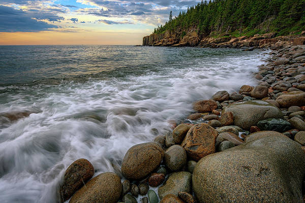 Photograph - Incoming Tide On Boulder Beach by Rick Berk