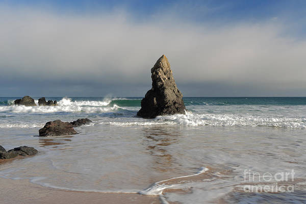 Photograph - Incoming Tide On Sango Bay by Maria Gaellman