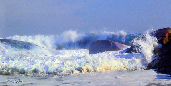 Photograph - Incoming Wave by Frank Wilson