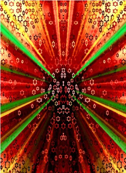 Judaica Digital Art - Increase Ten Fold by Devorah Fraser