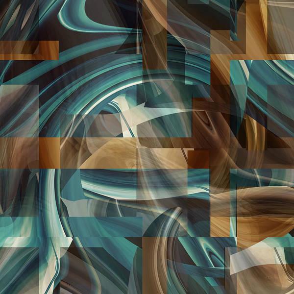 Digital Art - Increasing Light - U082a by rd Erickson
