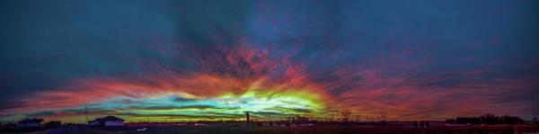 Photograph - Incredible Nebraska December Sunset 001 by NebraskaSC
