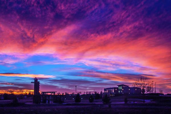 Photograph - Incredible Nebraska December Sunset 004 by NebraskaSC