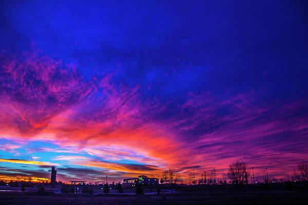Photograph - Incredible Nebraska December Sunset 012 by NebraskaSC