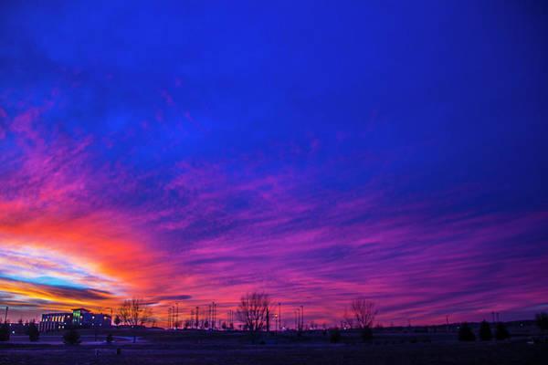 Photograph - Incredible Nebraska December Sunset 013 by NebraskaSC