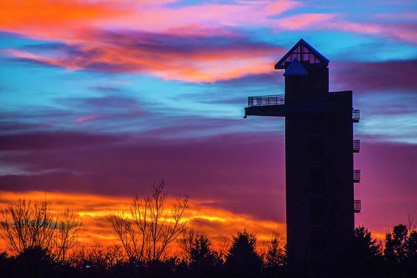 Photograph - Incredible Nebraska December Sunset 016 by NebraskaSC