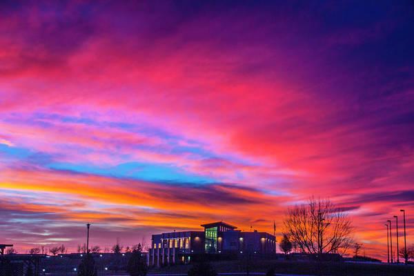 Photograph - Incredible Nebraska December Sunset 017 by NebraskaSC
