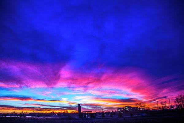 Photograph - Incredible Nebraska December Sunset 020 by NebraskaSC