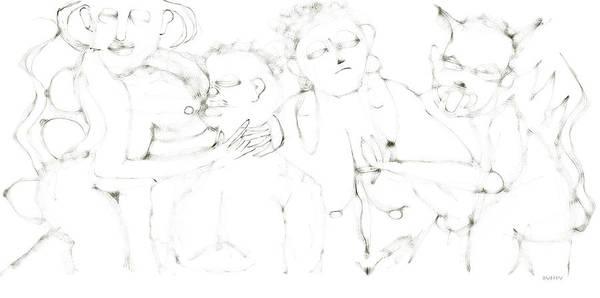 Digital Art - Incubus Succubus by Doug Duffey