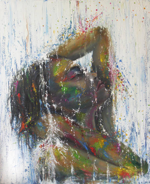 Wall Art - Painting - Indelible Sadness by Kathleen Wong
