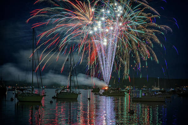 Photograph - Independence Day In Maine by Rick Berk