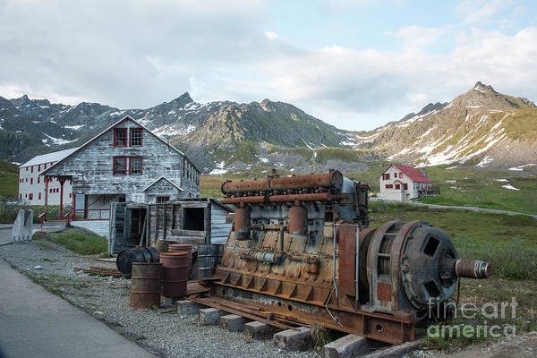 Gold Rush Wall Art - Photograph - Independence Mine by Paul Quinn