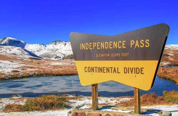 Photograph - Independence Pass Colorado by Dan Sproul