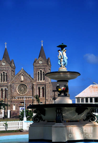 St Kitts Photograph - Independence Square by Thomas R Fletcher