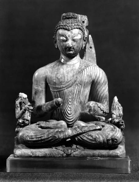 Photograph - India: Buddha, 8th Century by Granger