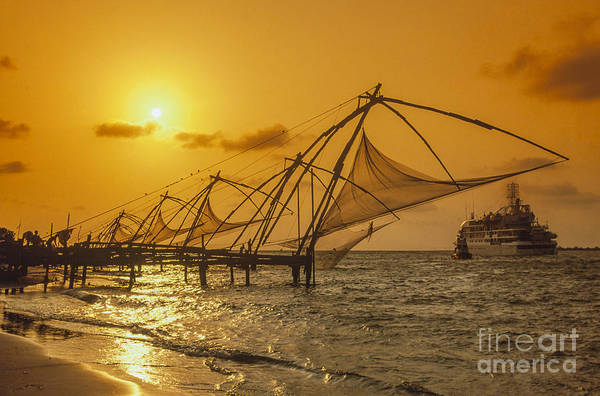 Photograph - India Cochin by Juergen Held