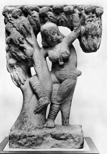 Photograph - India: Hindu Sculpture by Granger