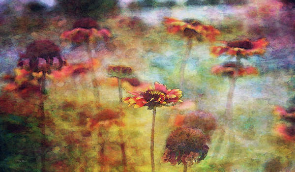 Photograph - Indian Blanket Landscape 0221 Idp_2 by Steven Ward