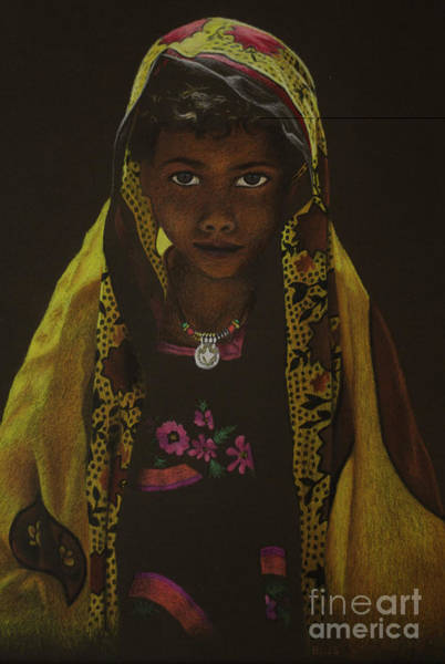 Painting - Indian Child by Lisa Bliss Rush