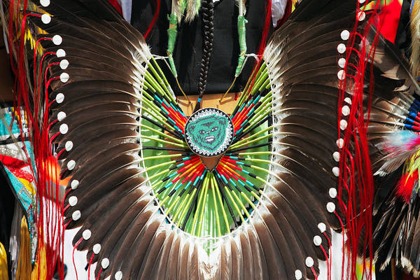 Photograph - Indian Decorative Feathers by Todd Klassy