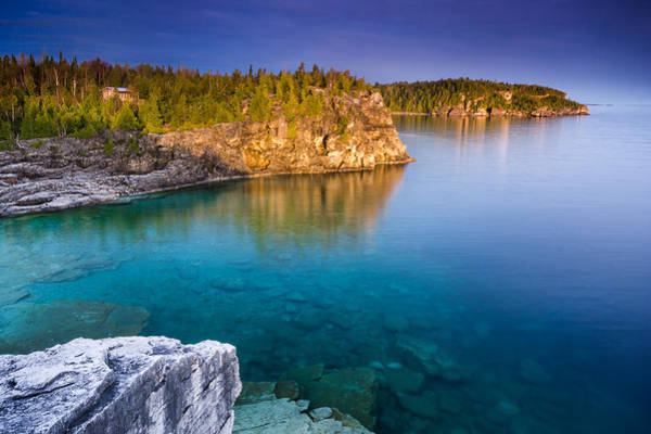 Wall Art - Photograph - Indian Head Cove Sunrise  by Cale Best