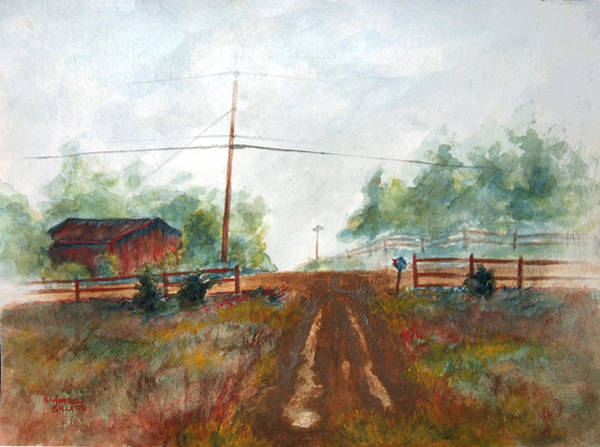 Painting - Indian Hills by Andrew Gillette