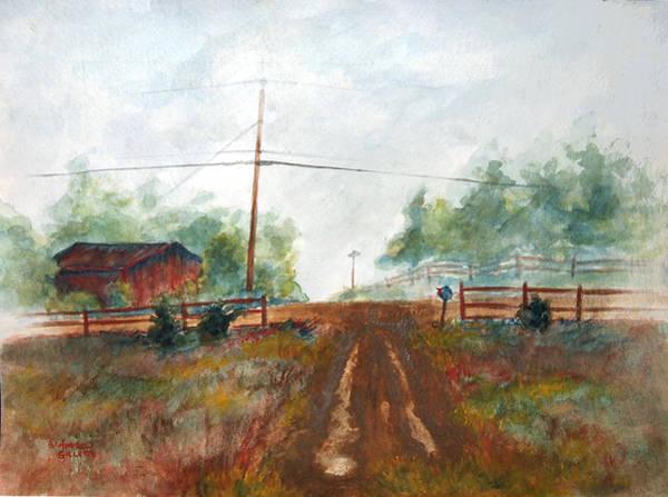 Indian Hills Art Print