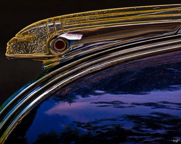 Photograph - Indian Hood Ornament by Chris Lord