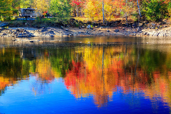 Wall Art - Photograph - Indian Lake Reflections by MaryGail Perkins