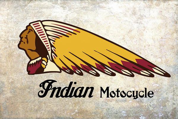 Wall Art - Digital Art - Indian Motocycle by Daniel Hagerman