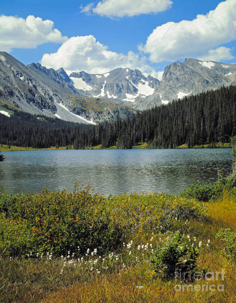 Photograph - Indian Peaks Wilderness Area, Colorado by Robert and Jean Pollock